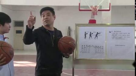 篮球双手胸前传接球 5-高中體育优质课 2019