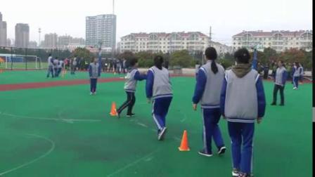 篮球四角跑动传球-高中体育优质课 2019