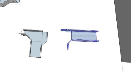 变径三通弯头做法Ti桥架弯头制作与计算