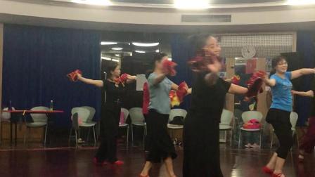 手娟东北秧歌舞蹈《奶奶爷爷和我们》学习中……2019.10.21