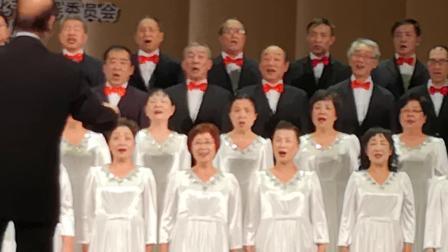 《上海欧阳知青合唱团》参加上海市民文化节合唱老年组颠峰对决的比赛