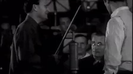1946年梅纽因与切利比达凯的柏林爱乐乐团排练视频