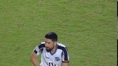 巴西全国甲级联赛第二十七轮巴伊亚1:2塞阿拉