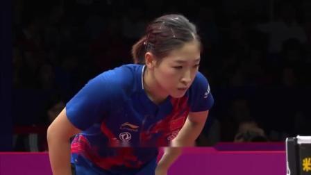 历史上第一人,世界杯五冠王,刘诗雯夺冠后落泪
