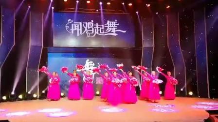 蓝山九九舞蹈队表演