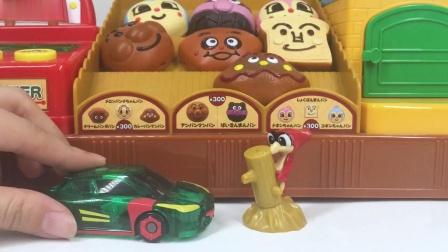 魔幻车神面包店烤面包奇趣蛋扭蛋