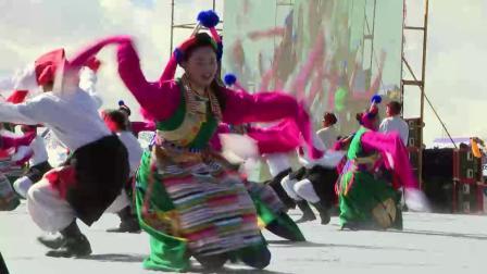20191022_德钦县香格里拉梅里雪山弦子节开幕式佛山乡弦子舞《弦歌悠悠》