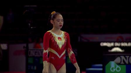 2019年 世锦赛 资格赛 刘婷婷 CHN 自由操