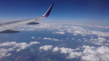 上海-重庆-航班外景(手机实拍)