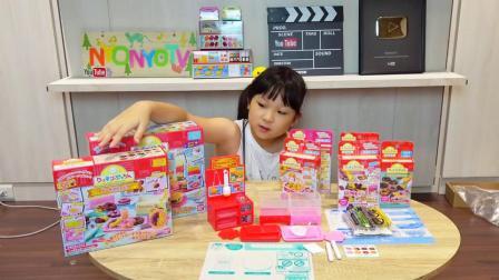 皮卡丘松饼,冰淇淋,蛋黄哥汉堡创意玩具[NyoNyoTV妞妞TV玩具]
