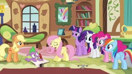小马宝莉:小马真够朋友,为了救回柔柔,贡献冠军苹果