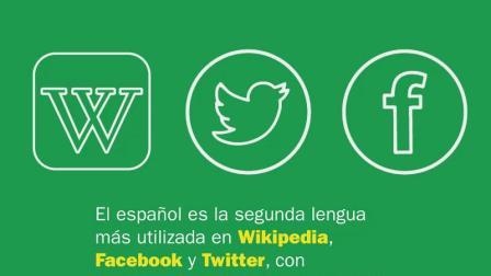 西班牙语是网上使用最多的第三大语言,继英语和中文之后