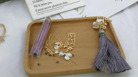 T632胸针材料包教程 需要购买产品淘宝搜索(小虾米DIY手工坊)