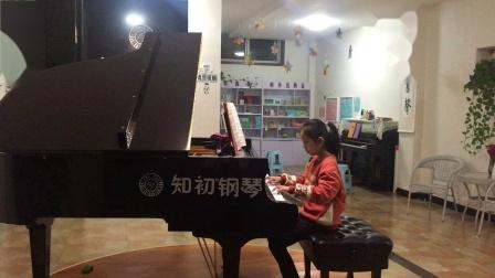 钢琴曲《四小天鹅舞曲》,演奏者:岳锦萱