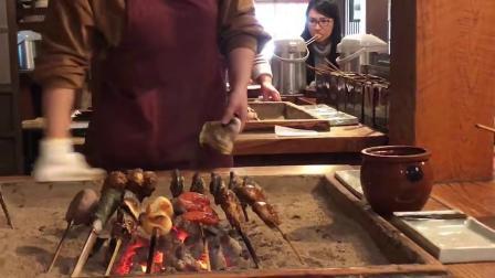 炉端烧,年糕,香菇,小面包