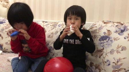 和一一吹气球1