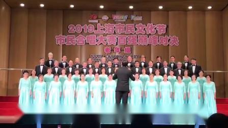 母亲的微笑----2019上海市民合唱大赛百强巅峰对决  海韵合唱团    指挥:庄祖康    钢琴伴奏:徐超  2019.10.22