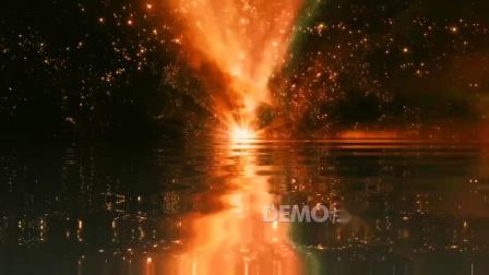 T台走秀 视频素材 c706 震撼大气金色光效光芒粒子歌舞表演年会晚会节目舞台LED视频素材 公司年会 晚会视频