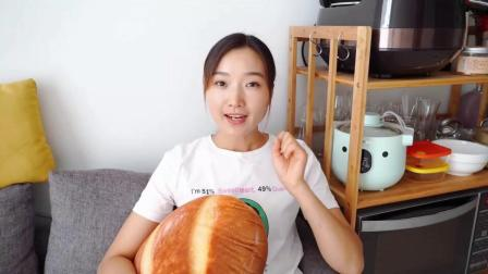 一款有内涵的面包,红糖核桃红枣软欧