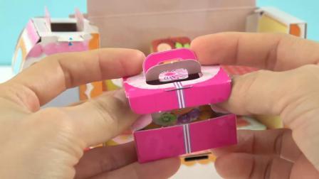 小猪佩奇DIY面包超人蛋糕车