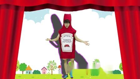 热狗面包与番茄酱的奇趣选择游戏!