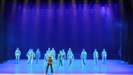 群舞、现代舞《成为你的样子》-编导 叶森 ,温州城市大学