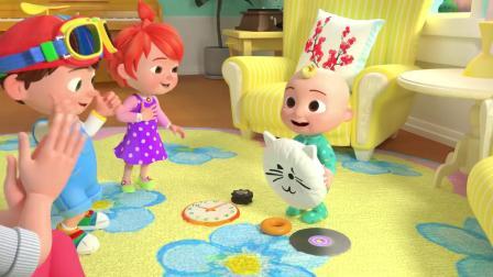 形状歌+更多的童谣和儿童歌曲 -  椰子壳,儿童歌曲,动画