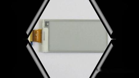 2.6寸黑白显示电子纸显示屏,电子墨水屏刷新视频