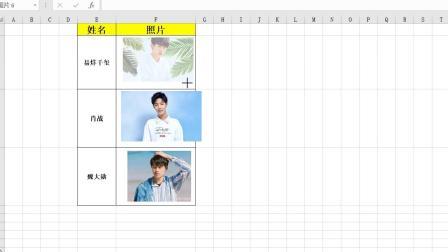 Excel技巧——图片大小随单元格而变