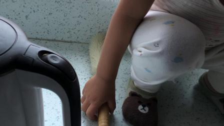 3⃣️2⃣️个月 2019.10.09 妈妈第一次蒸馒头 宝宝爱吃 很爱吃上面的葡萄干