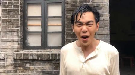 《惊蛰》拍摄花絮,张若昀方言说得好,拍戏片场也很硬气!