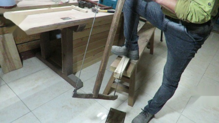 木工远程在线培训课程 操作基本功BO004 中式框锯顺锯操作