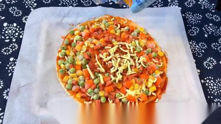 手抓饼拉丝披萨