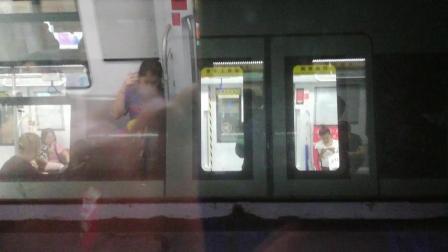 深圳地铁7号线小清新出车公庙站(9号线实拍)