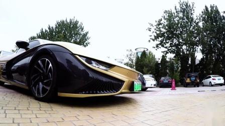 中国首台搭载Maxhaust主动声浪系统的前途K50纯电动跑车,克服了电车没有声浪的问题