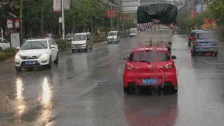 广西一一阳朔风景区,雨中阳朔城,另有一番景象!
