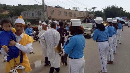 漳浦县杜浔后园余柔女仕出殡仪式(4)