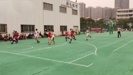 红旗实小第六届男篮瑞安市2019年篮球赛vs仙降小学31:27