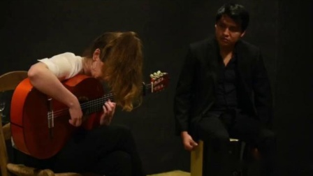 西班牙女吉手Lidia Asenjo 弹的Fandangos de Huelva