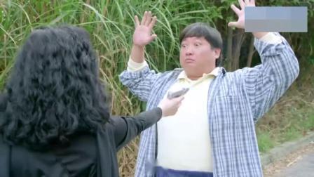 影视:看出女人是骗子,胖子要跟她五五分账,结果偷鸡不成蚀把米