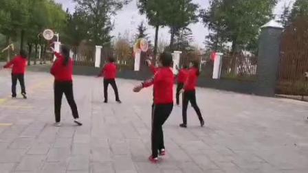 昆明市宜良县缘之缘柔力球队第三套柔力球规定套路展示!🌹🌹🌹
