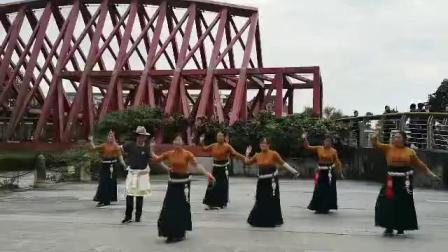 松潘县民族舞锅庄协会一锅之缘队风彩177