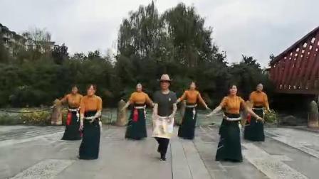 松潘县民族舞锅庄协会一锅之缘队风彩178