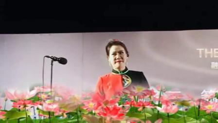 中国抒情女高音歌唱家潘幽燕演唱《梨花颂》