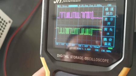 如何用金涵JDS2022A和汽修专用示波器测量can总线波形