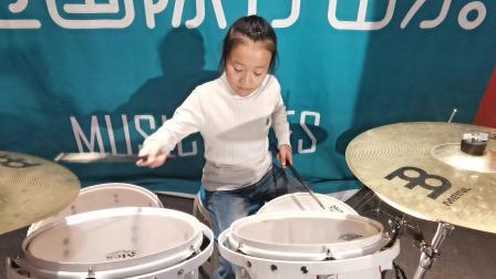 齐齐哈尔打击乐培训学校,鼎音艺术学校学员付梓瑀演奏视频