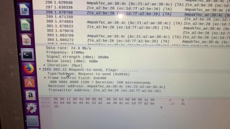LimeSDR解析wifi信号