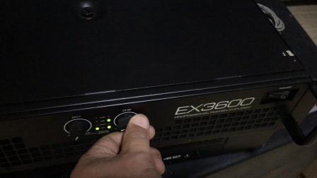 声准EX3600测试