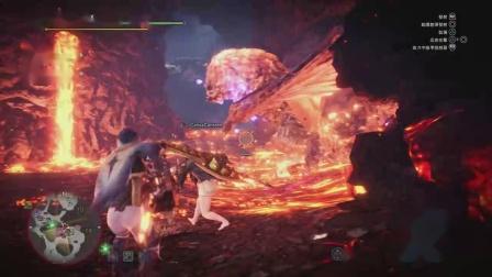 【空虚】PS4怪物猎人世界 冰原-轻弩属性弹-历战红莲爆鳞龙