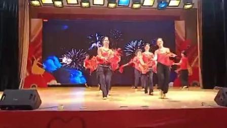 中奥电大舞蹈《看山看水看中国》彩排